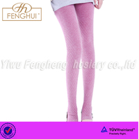 latest thick wool candy color warm leggings