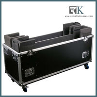 DIY color transportation flight case/hard case for transport/9mm plywood flight case