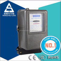 DT862 three-phase electric power meter rs485 mechanical digital length counter meter