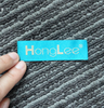 china factory directly high quality custom heat cut woven label
