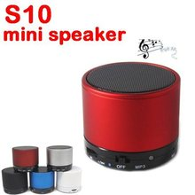 Portable MP3 Bluetooth Wireless Speaker Player For MP3/Pad/For iphone/Cellphone Support TF Card
