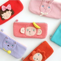 Pencil Bag Plush / Plush Pouch / Stuff Toy Pencil