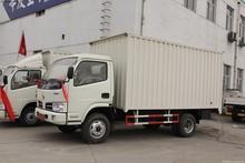 4x2 dongfeng 3 tons RHD dry cargo box truck van