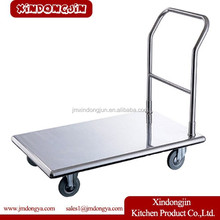 FT-A folding hand cart,hand push food cart for sale,hand pull cart