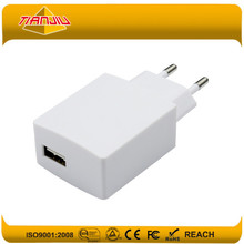 Hot sale smartphone chargers 5V 2.1A one USB used for smart phone,pad,camera