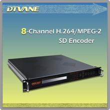 DMB-9820 2014 alibaba best sell digital TV 8 chs cvbs/sdi ip video encoder