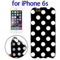 2015 New Coming Polka Dot Pattern Smooth TPU Phone Case for iPhone 6s
