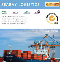 Professional international container shipping price to houston