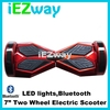 Wholesale iEZway Diamond style 6.5inch tire smart electrical two wheel self balancing scooter with bluetooth speaker Hoverboard