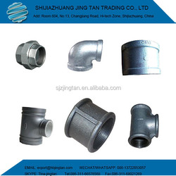 Malleable Iron Pipe Fittings Plumbing Materials