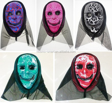 PVC Halloween mask for halloween party