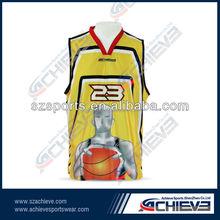 Best Style Sublimated Basketball Uniform Professional 100% Polyester inter lock Basketball Uniforms/European Basketball Jerseys