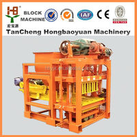 widely used cement block moulding machine/QTJ4-28 brick making machine for small investors