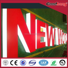 3d letter /3d light channel letter sign box letter