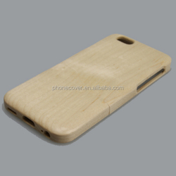 Genuine natural real customized phone case wood for iphone