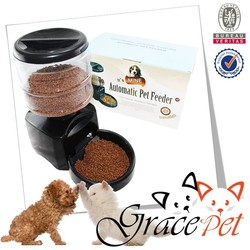 large capacity electronic automatic dog food feeder / cat food feeder