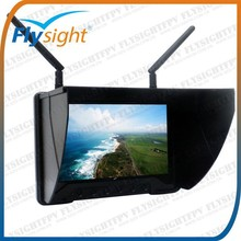 H1351 High Quality 7 Inch FPV Monitor For RC Models with Sun Shield / Adjustable Video System / Anti Video Black Out Technology
