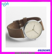 Minimalist style custom thin wrist watches for man with stone quartz watch japan movt women