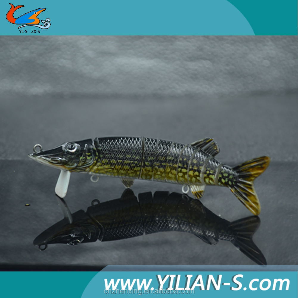 2016 new lures vivid 3d eyes 8 inch 65g pike bait fishing for Fishing bait launcher