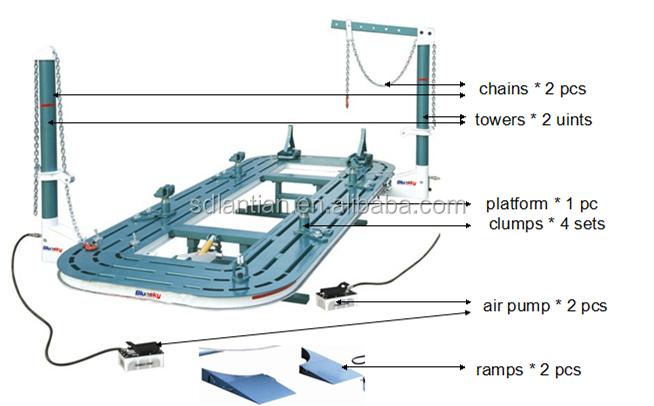 China Manufacturer Car Spotter/car Frame Straightening Machine/auto ...