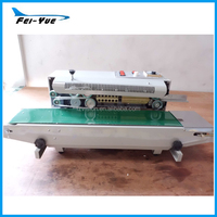 Stainless Steel Continuous sealer 220V Electric PE Coffee bag sealing Machine
