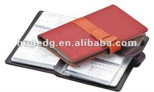 Customized various styles PU leather name card case