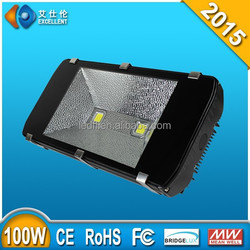 High strength 100 watts led flood lamps