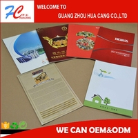 Cosmetics product catalog printing with saddle stitch with cheap price in china