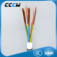 Different kinds of Professional soft copper core low voltage cable types