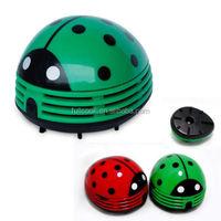 Cute Beetle Mini Desktop Vacuum Dust Cleaner