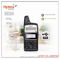 Hytera handheld vhf uhf radio transmitter PD365 for hotel , retail mall