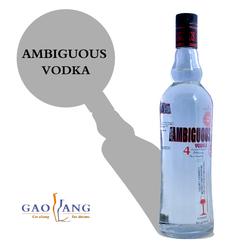 black vodka, sparkling vodka, vodka from brazil