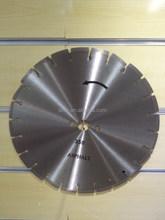 14 inches cutting black pitch diamond saw blade for Asphalt