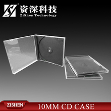 Transparent Jewel Case 10Mm Cd Packaging