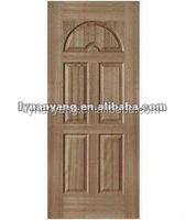 Melamine Molde DoorSkin VeneerDoorSkin DoorPanel Natural Veneer WhitePrimerDoor Skin Raw Plain Door SkinNY-9linyicheaperprice