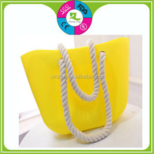 Good price Candy Color Jelly Shoulder Bag For Women Silicon Beach Bag