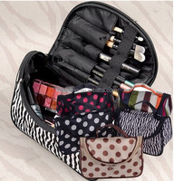 DropShipping Professional Cosmetic Case Bag Large Capacity Portable Women Makeup cosmetic bags storage travel bags