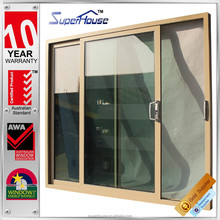 AS2047 standard made in china tempered glass aluminum glazing sliding doors