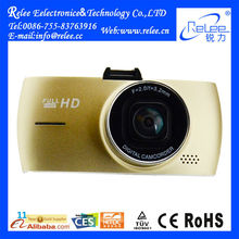 Full HD 1080P 360 degree dual car camera dash cam system recorder