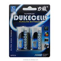 Brand DUKECELL LR14 c alkaline battery