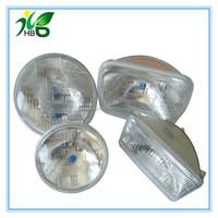 China supplier 5inch 7inch round square halogen sealed beam