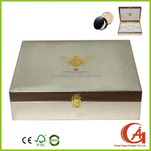eye shadow packaging box with divider to hold