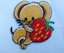 Brand new fabric woven patch for garment chest