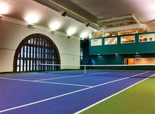 High quality badminton court surface indoor PU sports flooring