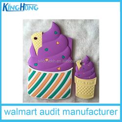 3d mini ice cream design cute cartoon silicone soft mini case cover for ipad