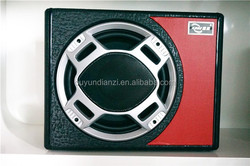 PU leather pioneer subwoofer, p audio subwoofer for cars