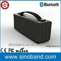 Sinoband HOT&New 10watts bluetooth speaker with handsfree function for iphone,ipad and other bluetooth device
