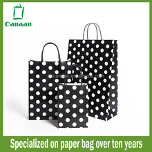 Latest promotional canada flag paper gift bag