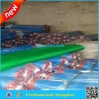 blue nylon mosquito net 16 mesh wrapped edge