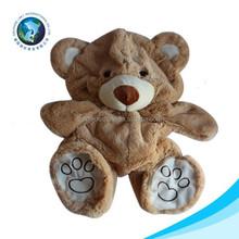 2015 OEM plush animal toy unstuffed teddy bear skins
